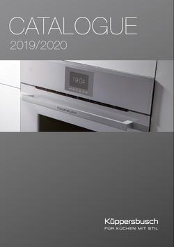 Küppersbusch catalogue 2019/2020