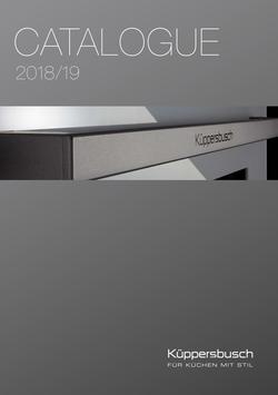 Küppersbusch catalogue 2018/2019